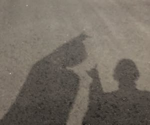 couple, Relationship, and shadow image