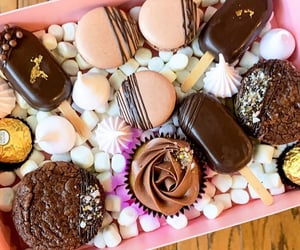 aesthetic, chocolate, and foodie image