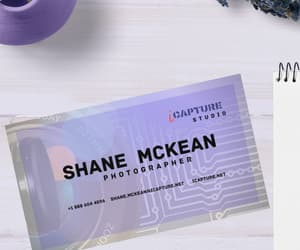 business card, instant download, and digital download image