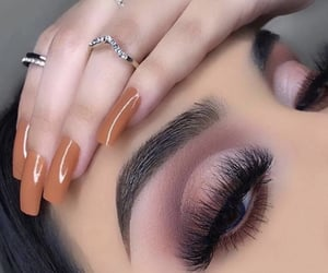 eyeshadow, fashion, and goals image