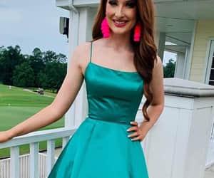 dress, fashion, and homecoming image