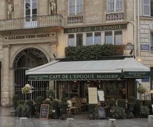 cafe, paris, and france image