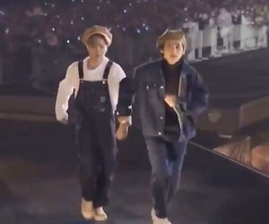 holding hands, soulmates, and taehyung image