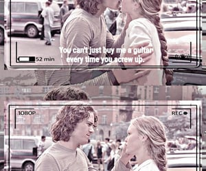 10 things i hate about you, heath ledger, and romance image