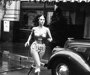 Lynda Carter and wonder woman image