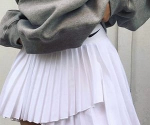 casual, fashion, and skirts image
