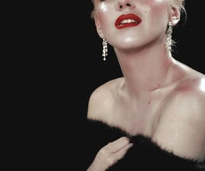 Marilyn Monroe, actress, and vintage image