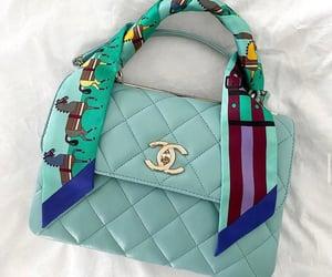 bag, cc, and foulard image
