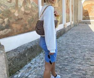 blogger, fashion, and ray ban image
