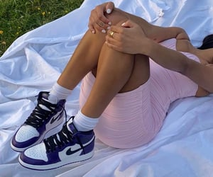 afternoon, nike, and style image