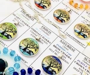 chakra, healing, and pendants image