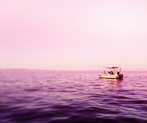 aesthetic, boat, and escape image