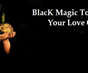 black, lost, and magic image