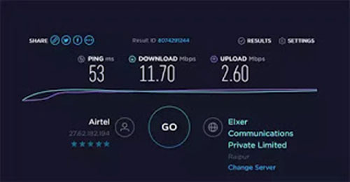 article, speed, and internet speed test image