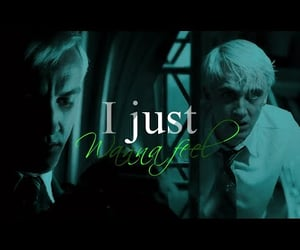 draco malfoy, harry potter, and hp image