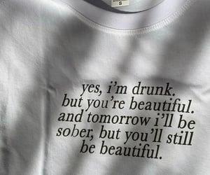drunk, quotes, and qotd image