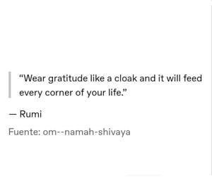 gratitude, quotes, and spiritual image