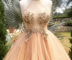 dresses, evening dress, and formal dress image