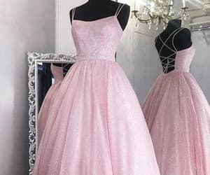ball gown, Prom, and prom dress image