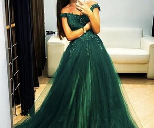 dresses, fashion, and formal dress image