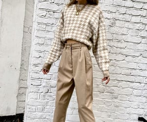 brown, fashion, and outfit image