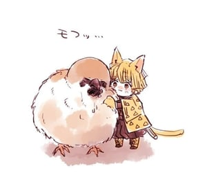 anime, bird, and manga image