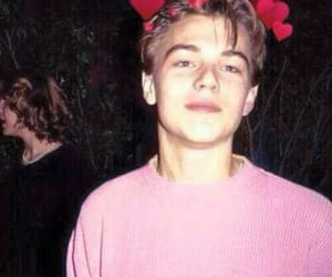 actor, baby, and leo dicaprio image