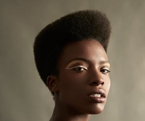 Afro, photography, and beauty image