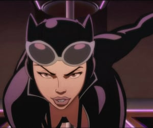 anime, art, and catwoman image
