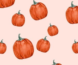wallpaper, pumpkin, and autumn image