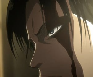 aesthetic, anime, and levi image