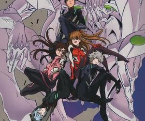 Neon Genesis Evangelion, rei ayanami, and asuka langley image