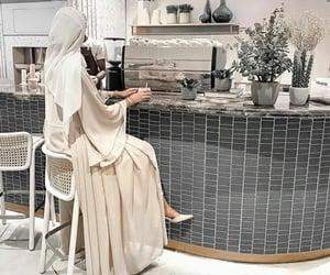 dress, hijab, and muslim image