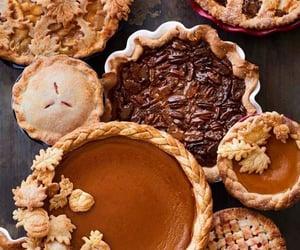 autumn, fall, and cake image