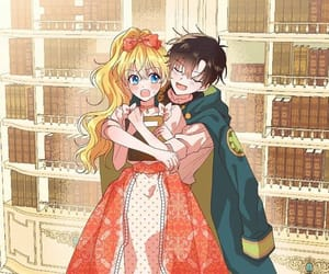 couple, lucas, and princess image