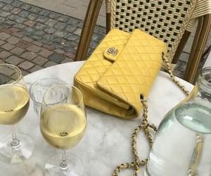 yellow, bag, and drink image