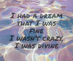 crazy, divine, and music image