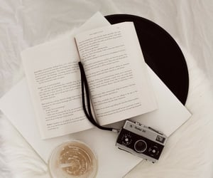 book, books, and camara image