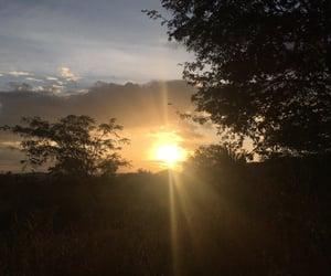 b, sunset, and nature image