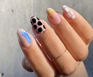 girls, nail, and nails image