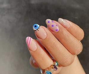 nails design, jewelry, and nails image