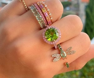 colorful, jewels, and lovely image