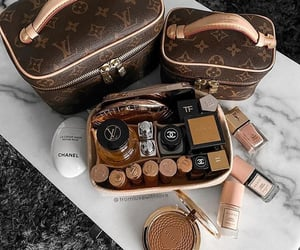 cosmetics, fashion, and Louis Vuitton image