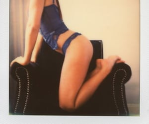 impossible, sensual, and instant film image