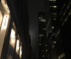 dark, city, and aesthetic image