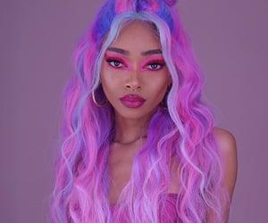 fashion, melanin, and makeup image