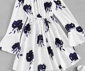 dress, cute, and flowers image