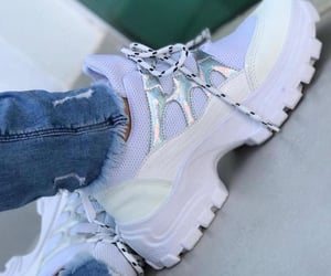 beauty, fashion, and sneakers image