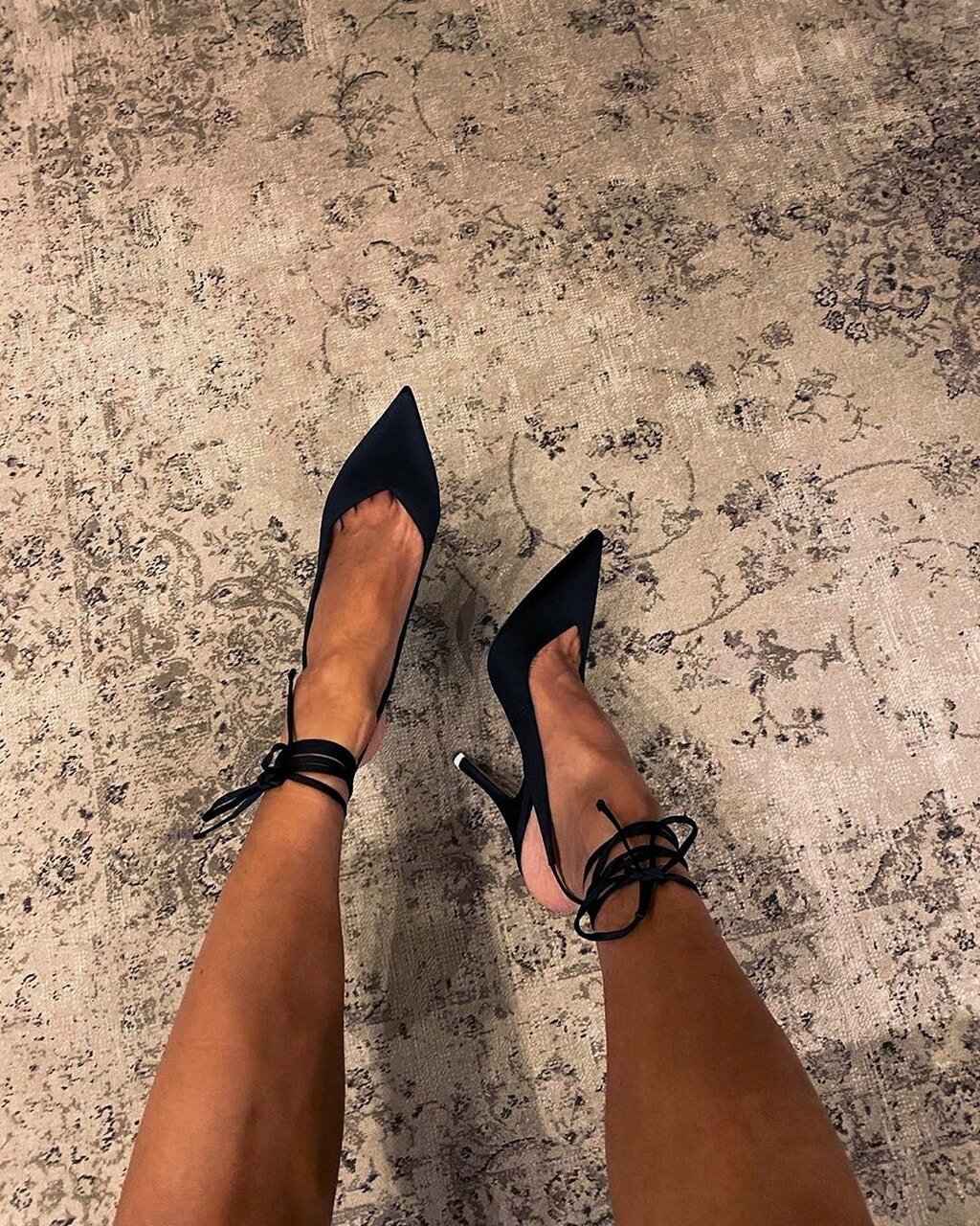 heels, black, and girl image