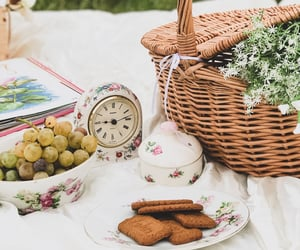 basket, classic, and dreamy image